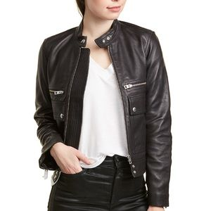 NWT Zadig & Voltaire Love Cuir Leather Jacket!